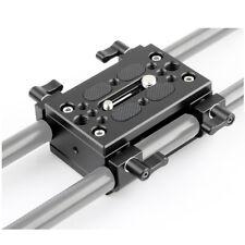 NICEYRIG Shoulder Support Camera Baseplate with 15mm Rod Clamp Railblock