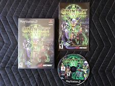 Gauntlet: Dark Legacy (Sony PlayStation 2, 2001) With Manual