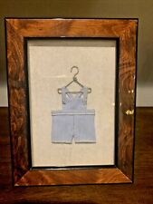 Framed Mini Baby Clothes On Hanger