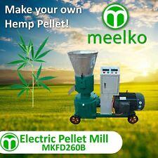 Pellet Mill 15kw Electric Engine Pellet Press 3 Phase (Hemp)