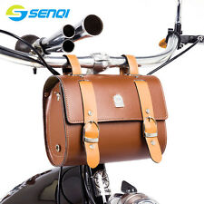 Retro Bike Bag 210*90*160mm Bike Tail Bag Bike Saddle Bag Back Seat Tail Pouch