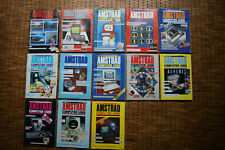 JOB LOT (x13) VINTAGE AMSTRAD COMPUTER USER MAGAZINES / 1985 - 1987