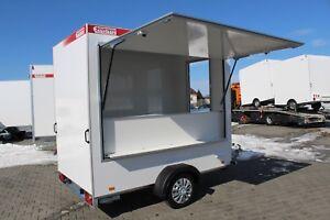 Verkaufsanhänger 250 x 150 x 200 - 750 kg Verkaufswagen Einsteigermodell TOP