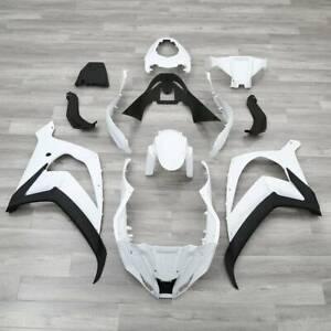 Unpainted Fairing Bodywork Kit Fit For Kawasaki Ninja ZX10R ZX-10R 2011-2015 14