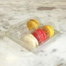 Clear Macaron Blister Box for 6 Macarons($1.6 each) - Pack of 20 Boxes