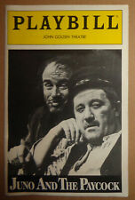 JUNO AND THE PAYCOCK - PLAYBILL - Opening Night: June 21, 1988