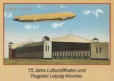 75 Jahre Luftschiffhafen Leipzig-Mockau Luftschiff Sachsen Rarität aus Eisenberg