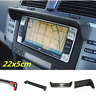 Black Universal 22x5cm Sun Shade Glare Visor for Car GPS Navigator LCD Monitor