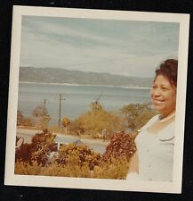 Vintage Photograph African American Woman - Beautiful Scenic View