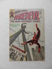 DAREDEVIL #8 1st App STILT MAN Poor Marvel 1964