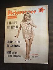 18 AUG 1956 PICTUREGOER MAGAZINE - DEBBIE REYNOLDS GROWS UP
