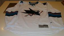 San Jose Sharks белый Road AWAY ДЖЕРСИ NHL хоккей Reebok новый с Ярлыками для взрослых XL Premier