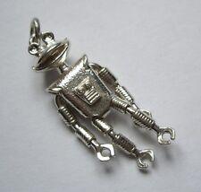 Sterling Silver Smash Articulated Alien Robot Martian Man TV Character