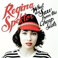 What We Saw from the Cheap Seats Regina Spektor Jewel Case CD Sealed! New! 2012