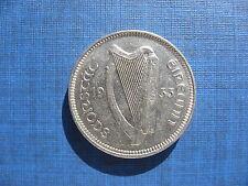 Ireland Threepence 1933. Rare Date. Good grade.
