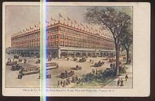 Postcard NEWARK New Jersey/NJ  Hahne & Co New Department Store view 1906?