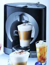 Dolce Gusto Kaffee Kapsel Maschine Automat Nescafé Oblo Krups KP1108 schwarz