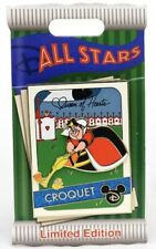 Disney All Stars Trading Cards Queen Of Hearts Croquet Alice Wonderland Le Pin