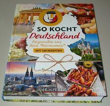 So kocht Deutschland - Regionales aus dem Thermomix - mit 160 Rezepten Buch NEU!