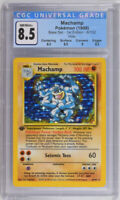 Pokemon CGC 8.5 Machamp 8/102 Base Set - 1st Edition Holo Rare PSA 9