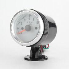1pcs 2'' 52mm Blue LED Car Tacho Rev Counter Gauge Tachometer W/ 0-8000 RPM New