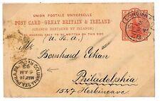 Q270 1893 a Londra TRANSATLANTICO USA.