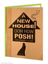 Brainbox Candy New Home House Pad Greetings Card modern humour funny different