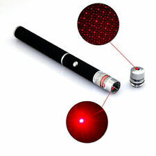 2in1 Red Light 650nm Laser Pointer Starry Stars Cap Laser Pen Stage Light