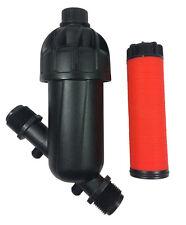 "In line Disc Strainer | Inline Water Filter 25mm (1"") 120 Mesh Pre Filter 6-6"