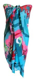 Central Chic Beach Sarong Dress Wrap Swimwear Beach Cover Up Scarf FAST DELIVERY