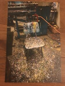 CHUCK SPERRY PAINT SPLATTER ART PRINT 100% AUTHENTIC REMOVED HELIKON BOOK POSTER