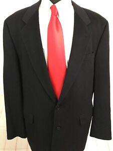 Hugo Boss Loro Piana Men's Solid Blue Wool Blend Blazer 48L $1,975