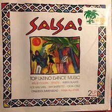 VARIOUS • Salsa • Doppio Vinile LP • 1991 EUROSTAR