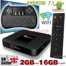 2018 TX3 Mini 2GB+16GB Android 7.1 TV Box 17.6 HD Media Player+Mini LED Keyboard