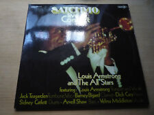 Satchmo Armstrong Live in Concert Double Vinyl Coral Germany