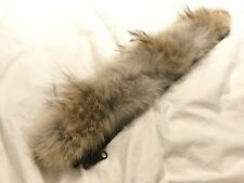 Canada Goose Real Fur Trim Or Ruff. 100% Genuine. 50cm Long. Ideal Replacement