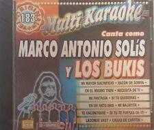 Marco Antonio Solis Y Los Bukis Multi Karaoke OKE-183 Spanish Español CDG