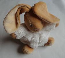 Kaloo Kuscheltier Plüschtier Hase in Weiss ca.18 cm. (ohne Ohren)