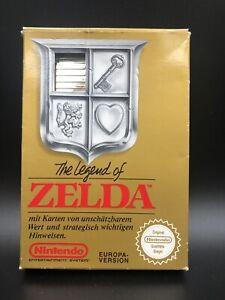 NES Nintendo The Legend Of Zelda Ovp