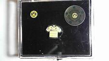 Sammel Etui Sammlung Box 3 Pins BVB 09 Borussia Dortmund Badge Trikot 2015/2016