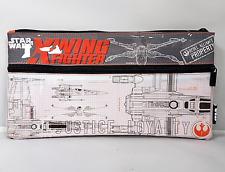 Star Wars Oficial X-Wing utilidad Estuche grande con cremallera doble pluma estacionario