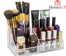 Cosmetic Organiser 16 position Clear Acrylic Jewellery Box Makeup Storage Case