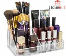 Organizador de Cosméticos Caja Joyas Acrílico Transparente de 16 posiciones Maquillaje Caja de almacenamiento