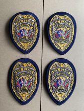 Six Flags Amusement Park Security Department (4) Patch. Obsolete (New)