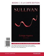 College Algebra, Books a la Carte Edition by Michael Sullivan (2014, Ringbound)