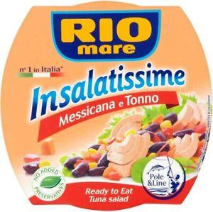 Rio Mare Mexican Style Tuna Salad 4x160g FREE DELIVERY