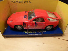 MOTOR MAX Porsche 928 s4 in RED - 1:24 scale RARE - NEW BOXED in MINT CONDITION