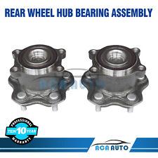 2 Rear Wheel Bearing & Hub fits Nissan Altima Maxima Fwd 2009 2010 2011- 2018
