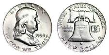 1959-P Franklin Half Dollar Brilliant Uncirculated- Bu