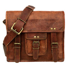Fair Trade Handmade Medium Brown Leather Satchel - 2nd Quality